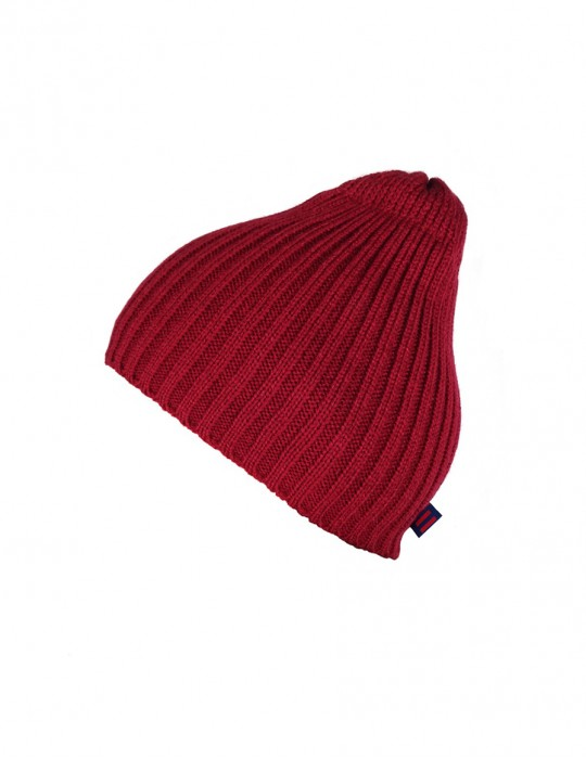 DR Knit Beanie Hat Bordeaux