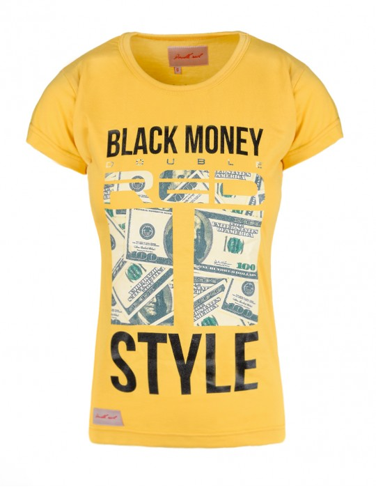 Black Money Red Style Yellow