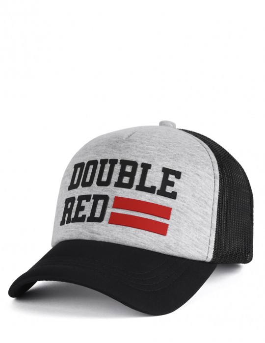 Trucker Cap UNIVERSITY OF RED Melange Grey/Black