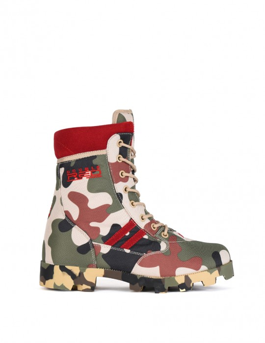Boots Red Jungle Camodresscode